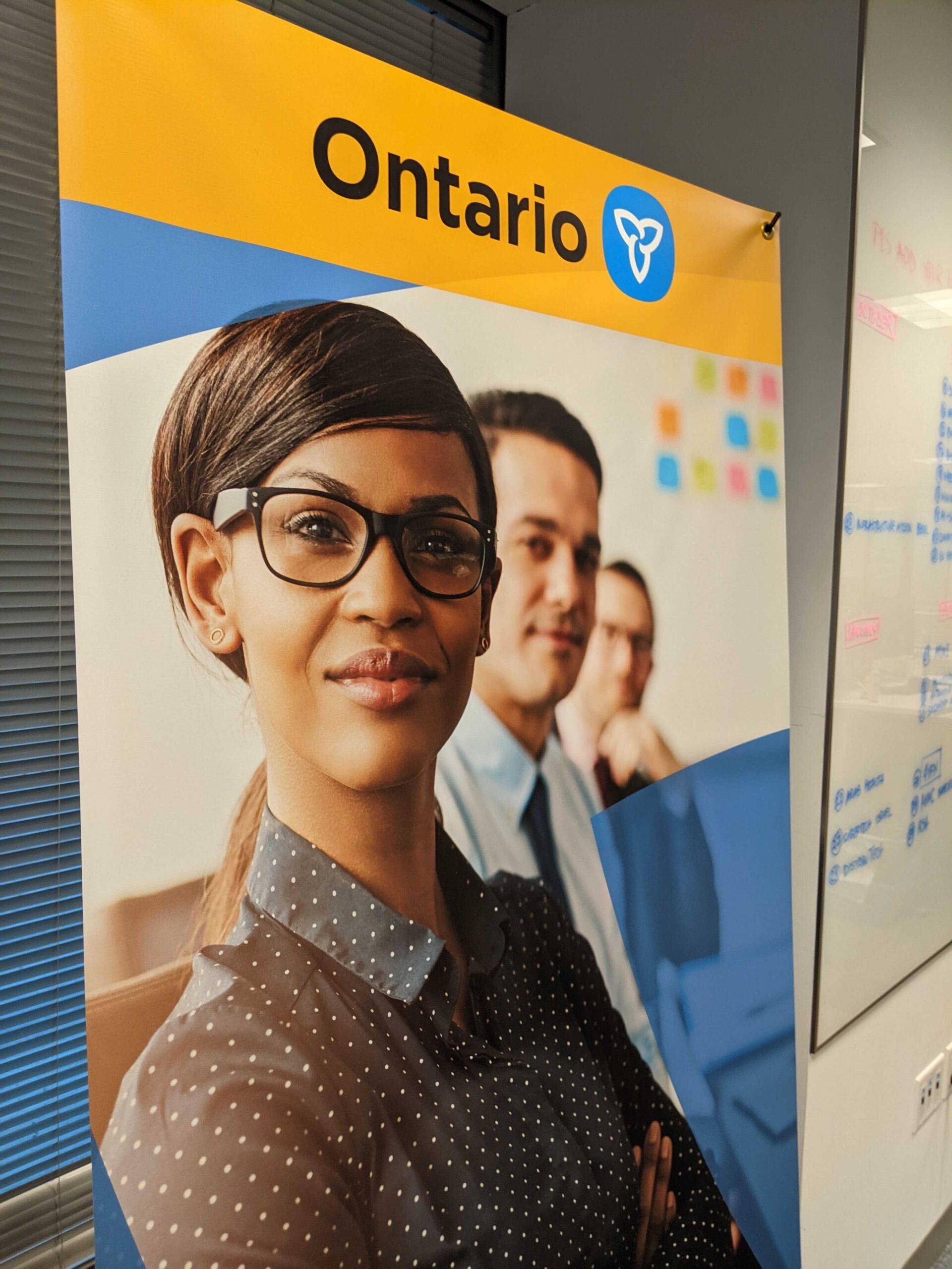 Ontario banner